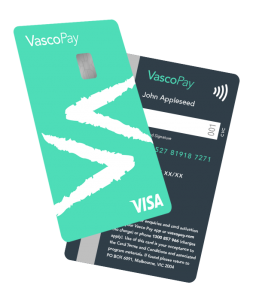 vasco pay prepaid visa card