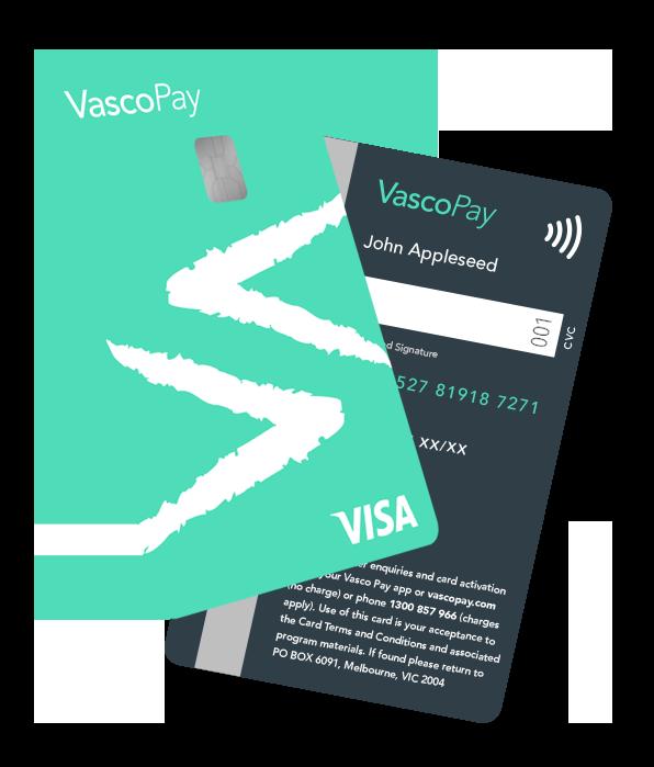vasco pay prepaid visa card