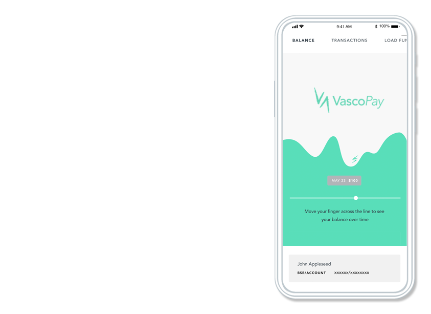 vasco pay app screenshot
